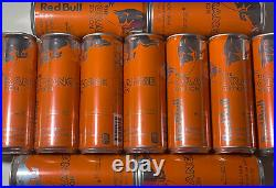 RED BULL THE ORANGE EDITION TANGERINE Discontinued Drink 12 FL OZ 11 Cans