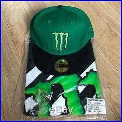 (Rare) Monster Energy Athlete Only (New Era Cap, Shirt & Pin) / UFC Redbull bmx