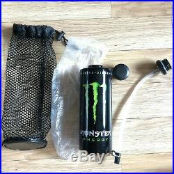 (Rare NEW) Monster Energy Athlete Only Metal Bottle / Redbull UFC Cap Hat Rossi