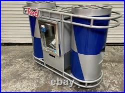 RedBull Energy Drink Cart NEW IDW Cooler Rolling Event Display #4751 Red Bull