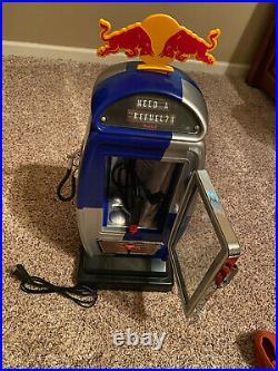 RedBull Mini Refuel Cooler Model Rare Advertising Fridge