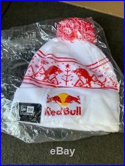 Red Bull Athlete Beanie Rare New Era