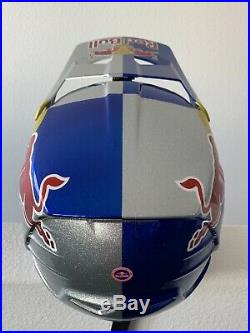 Red Bull Athlete Helmet 100% Aircraft Size Small Mtb Cycling Rare