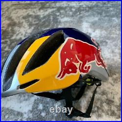 Red Bull Athlete Helmet Cycling Size Small -scott Bike Rare