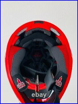 Red Bull Athlete Helmetbell Moto 9 Flex Size L Motocross Supercross Rare