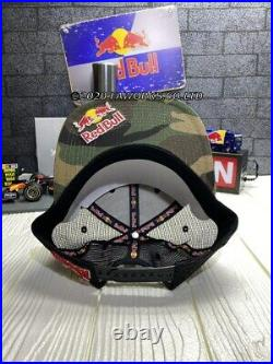 Red Bull Athlete Only Camo Trucker Hat Rare New Fast Shipping