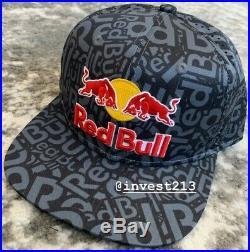 Red Bull Athlete Only Hat 2020 Snapback Cap All Over Monster Energy
