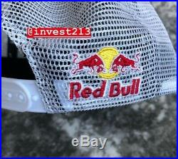 Red Bull Athlete Only Trucker Hat 2019 Blue/white Snapback Cap Rare