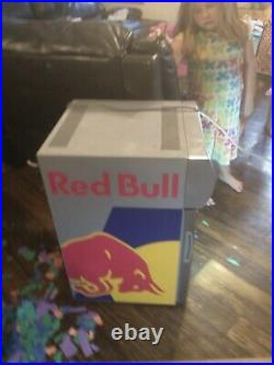 Red Bull Baby Cooler Mini Fridge brand new free shipping
