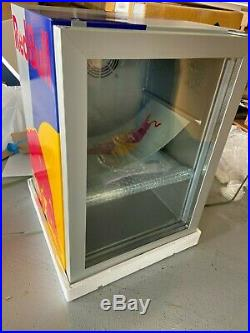 Red Bull Energy Drink Cooler Mini Fridge Table Top Small Refrigerator NEW