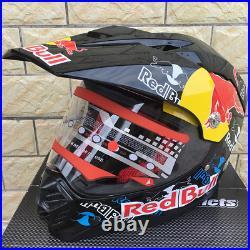 Red Bull Extreme Sport Motorcycle Motocross Bike Full Face Helmet 2021 Limited
