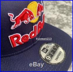Red Bull Ktm Athlete Only Hat 2019 Blue Snapback Cap Rare