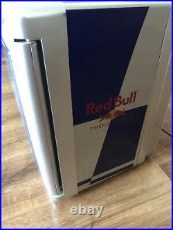 Red Bull Mini Fridge NEW! For Cold Drinks 220V-240V Home Garden 12V Camper Car