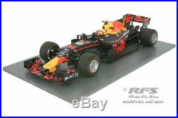 Red Bull RB13 TAG Heuer Max Verstappen Formel 1 Malaysia 2017 118 Spark 18S311