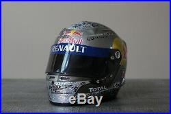 Red Bull Racing F1 Formula 1 Sebastian Vettel Arai Helmet 1/2 scale NEW IN BOX