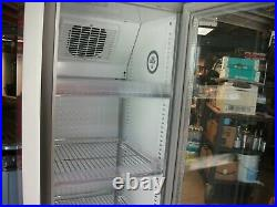 Red Bull Slim Mega Cooler Eco Refrigerator Unit, 5 Foot Tall VERY HARD TO FIND