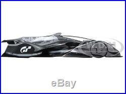 Red Bull X2014 Fan Car Sebastian Vettel Dark Silver 1/18 Model By Autoart 18116