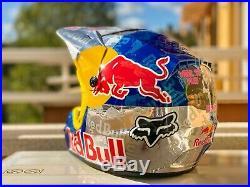 Red Bull helmet