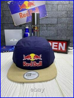 Red bull Athlete only Hat Very Rare New Era 5 Panel Fast Shipping