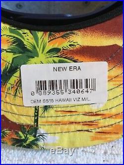 Red bull New Era hat athlete Hawaiian SnapBack Rare