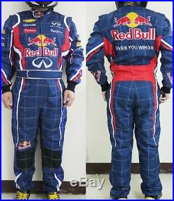 Redbull Go Kart Race Suit Cik Fia Level 2 Approved With Free Gifts