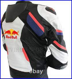 Redbull Motorcycle Leather Jacket Eviron Motorbike Racing Jacket