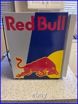 Redbull mini fridge