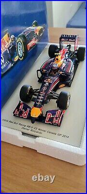 Ricciardo 118 RB10 Canadian GP winner F1 car