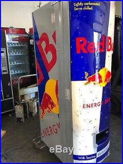 Royal Vendors RED BULL 372 / 8.4oz Energy Drink Vending Machine Made In USA