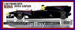 STUDIO27 1/20 Trans Kit RB6 2010 JAPAN GP & Tamiya 1/20 Red Bull RB6 kit set