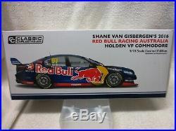 Shane Van Gisbergen 2016 Vf Commodore Redbull 118