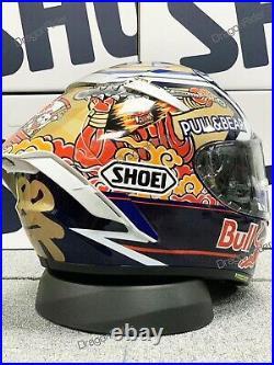 Shoei X14 X-Spirit 3 Motorcycle Full Face Helmet Red Bull Marc Marquez Motegi 3