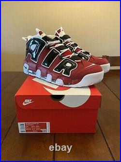 Size 14 2020 Nike Air More Uptempo Bulls Chicago Pippen 921948-600