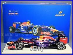 Spark 18S135 2014 Sebastian Vettel #1 Infiniti Red Bull Racing F1 RB10 118