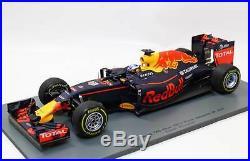 Spark 18S251 Daniel Ricciardo Red Bull Tag Heuer Winner 2016 Malaysian GP 118