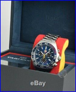 TAG Heuer Formula 1 Quarz 43mm Chronograph Red Bull Special Edition 25,1 (neu)