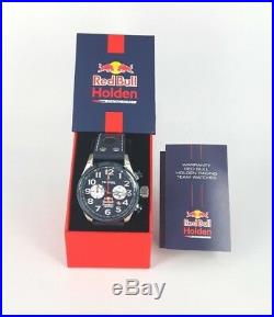 TW Steel Quartz Watch TW980 Red Bull Holden Chrono 48mm Case 10ATM RRP$399