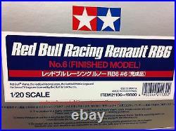 Tamiya Automotive Model 1/20 Car Honda Red Bull Racing Renault RB6 No. 6 21130