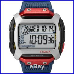 Timex Command X Red Bull Cliff Diving 54mm Resin Strap Watch Blue TW5M20800