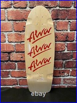 Tony Alva Skateboards 1979 RED TRI Logo PIG Old School Vintage 1980s OG Reissue
