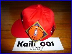 VTG Red Chicago Bulls SNAP BACK HAT G Cap Starter OG Raiders Kings Sharks B