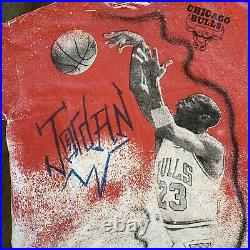 Vintage Michael Jordan Chicago Bulls Basketball NBA T Shirt
