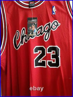 Vintage Michael Jordan Nike 1984 Flight 8403 Bulls Jersey (3XL, NWT)