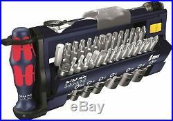 Wera 05227704001 Tool-Check Plus Bit Ratchet Set- Sockets- Metric- F1- Red Bull