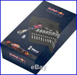 Wera Red Bull Racing 28pc Zyklop Speed Ratchet Set, 1/4 drive Metric 28 piece