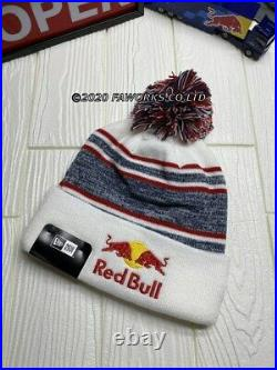 White border Athlete Only Red Bull Beanie Knit Cap Red Rare Limited Not for sale