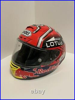 X14 Motorcycle Full Face Helmet Red Bull Marquez 93 Moto GP Racing (Size M)