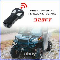 X-BULL 4500LBS 12V Electric Winch ATV 4WD Winch Red Synthetic Rope New Arrival